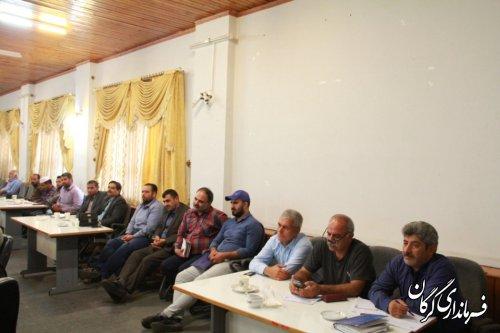 کارگاه آموزشی آسیب های اجتماعی در حوزه پیشگیری از جرایم دربخش مرکزی گرگان برگزار شد
