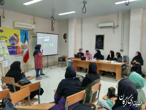 رویداد استارت آپی با گرایش صنایع دستی در مرکز آموزش فنی و حرفه ای خواهران گرگان برگزار شد