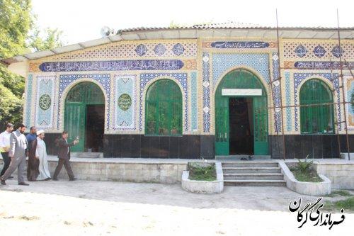 """طرح گردشگری در امامزاده ابراهیم (ع) """"جنگل رنگو"""" مطالعاتی و اجرایی گردد"""