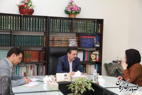 ملاقات مردمی فرماندار شهرستان گرگان  با شهروندان برگزار شد