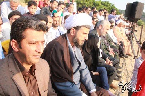 نمایش بازسازی واقعه عظیم غدیر خم در گرگان برگزار شد