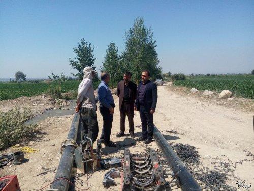 پروژه اجرای خط انتقال آب چاه به مخزن شهر جلین اجرایی می گردد