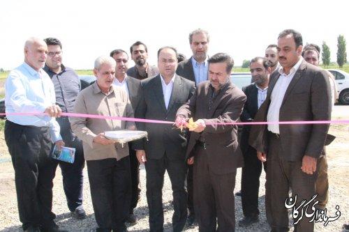 افتتاح پروژه آبرسانی به روستای سلطان آباد بخش بهاران