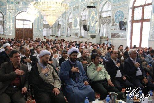 مراسم بزرگداشت یاد و خاطره شهیدان رجایی و باهنر و شهدای دولت در گرگان برگزار شد