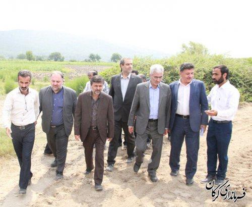 مراسم کلنگ زنی طرح مرمت و بهسازی آب بندان روستای سیدمیران برگزار شد