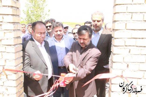 ابیاری تحت فشار اراضی کشاورزی (30 هکتار) در روستای گوزن فارس به بهره برداری رسید