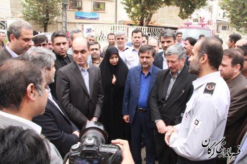 ایستگاه شماره 7سازمان آتش نشانی و خدمات ایمنی شهرداری گرگان افتتاح شد