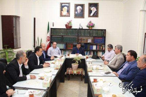 دستگاه های اجرایی جهت بهبود مدیریت شهری با شورای اسلامی و شهرداری گرگان همکاری کنند