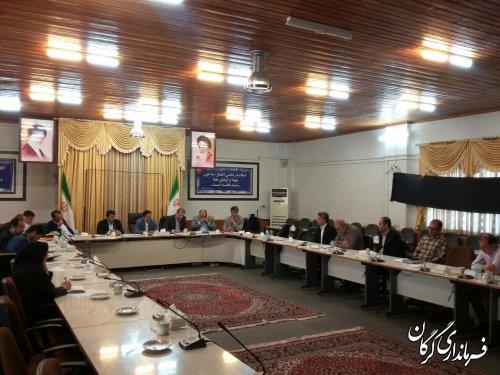 جلسه هماهنگی سیزدهمین جشنواره بین المللی فرهنگ اقوام در گرگان برگزار شد