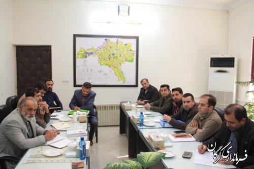 جلسه اجرایی شدن طرح لوله گذاری آب به مزارع روستاهای سدن و سیدمیران برگزار شد
