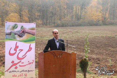 کاشت و نگهداری از درختان نماد امر به معروف در جامعه است