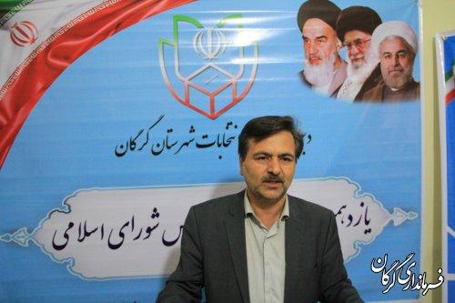 ثبت نام 72داوطلب انتخابات مجلس در گرگان و آق قلا