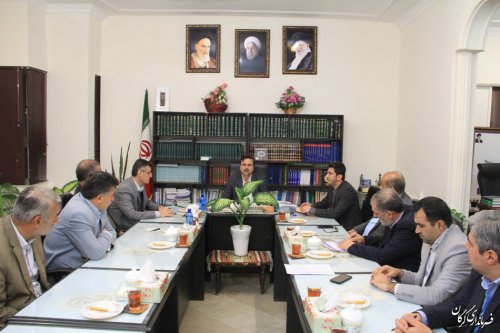 برگزاری اولین جلسه هیات اجرایی یازدهمین دوره انتخابات مجلس شورای اسلامی در شهرستان گرگان