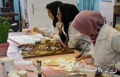 بیش از 1200نفر ساعت در 9 ماهه نخست 98 در مرکز آموزش فنی و حرفه ای خواهران شهرستان گرگان