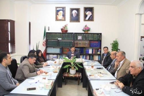 جلسه هماهنگی کمیته پشتیبانی انتخابات در فرمانداری گرگان برگزار شد