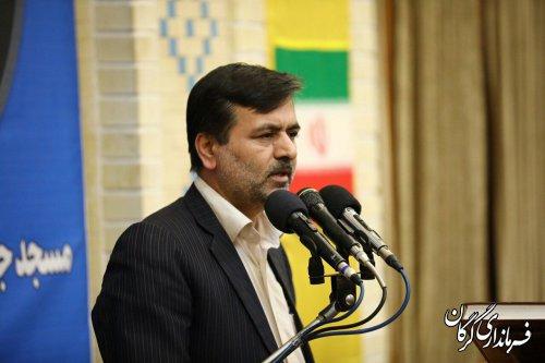 برنامه ویژه جشن 41 امین سالگرد پیروزی شکوهمند  انقلاب اسلامی در مسجد گلشن گرگان برگزار شد