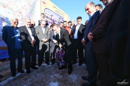 عملیات اجرایی ساخت مجموعه تفریحی شهربازی مدرن گرگان آغاز شد