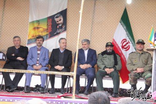 راهپیمایی باشکوه ۲۲بهمن در گرگان برگزار شد
