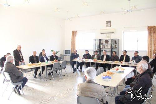 نشست معاون سیاسی امنیتی و اجتماعی استانداری گلستان به همراه فرماندارگرگان با ارامنه شهر قرق