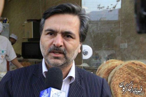 13 واحد نانوایی در سطح شهرستان گرگان که بهداشت را رعایت نمی کردند پلمپ شدند