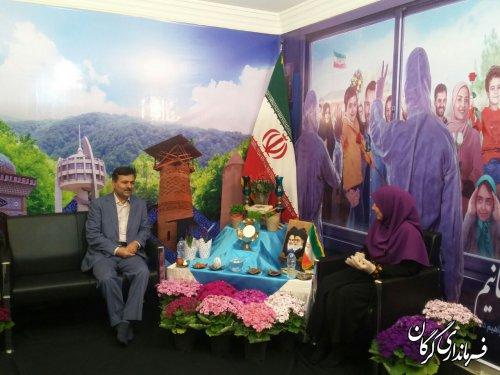 """فرماندار گرگان عصر امروز ۳فروردین در برنامه زندگی پلاس """"اولین تلویزیون اینترنتی"""" استان گلستان حضور یافت"""