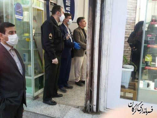 5 واحد صنفی در شهرستان گرگان پلمپ شدند
