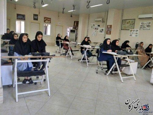بیش از هزار و ۵۰۰ نفر در مرکز آموزش فنی و حرفه ای خواهران شهرستان گرگان از آموزش های مهارتی بهره مند شدند