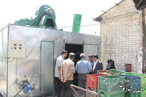 دراولین مرحله حمایت ازفراوری گیاهان دارویی درشهرستان 4دستگاه خشک کن و2دستگاه عرقگیر باحمایت تسهیلاتی 900میلیون تومانی راه اندازی خواهدشد