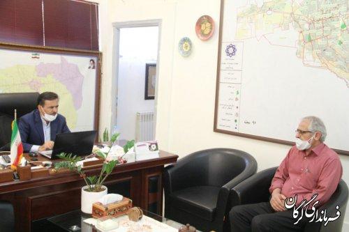 ملاقات مردمي فرماندار شهرستان گرگان برگزار شد