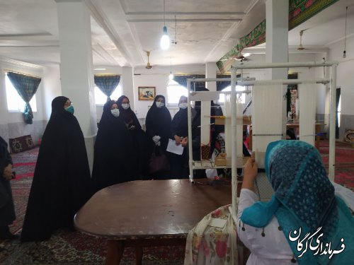 زنان سرپرست خانوار در محلات حاشیه نشین شهرستان گرگان، با مهارت آموزی توانمند می شوند