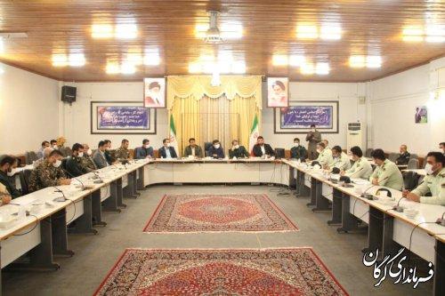 نشست هماندیشی نیروی انتظامی و بسیج شهرستان گرگان برگزار شد