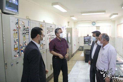 فرماندار گرگان از کارخانه های خوراک دام وطیور گرگان و دشت و تخته فشرده ممتاز گلستان بازدید کرد