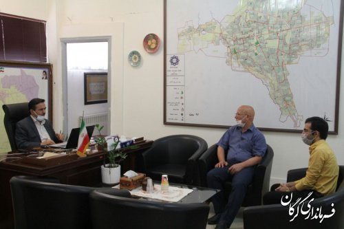 ملاقات مردمی فرماندار شهرستان گرگان برگزار شد