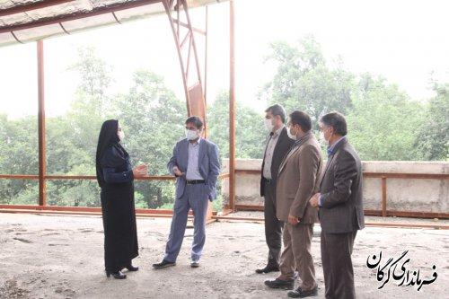 فرماندار گرگان از مرکز آموزشی و رفاهی دانش آموزان واقع در اردوگاه نشاط توسکستان بازدید کرد