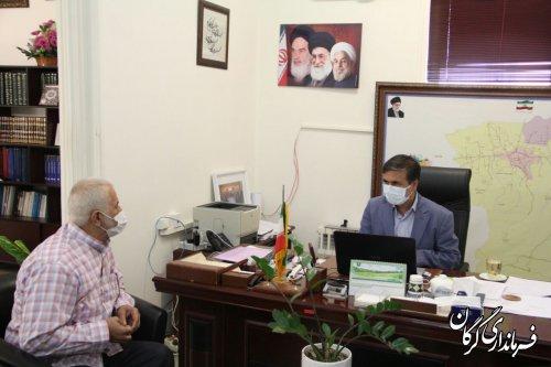 ملاقات مردمی فرماندار شهرستان گرگان با شهروندان در محل فرمانداری برگزار شد