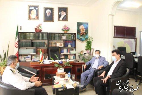 برگزاری جلسه هماهنگی حفاری آب و فاضلاب در سطح شهر گرگان
