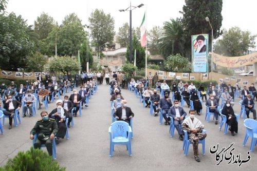 450 برنامه به مناسبت هفته دفاع مقدس در شهرستان گرگان برگزار می شود