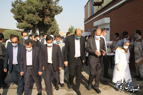 افتتاح کارگاه جوشکاری گاز در مرکز فنی حرفه ای گرگان