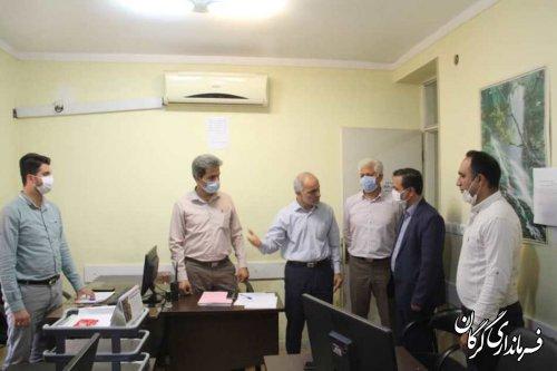بازدید فرماندار گرگان از شرکت توزیع برق شهرستان