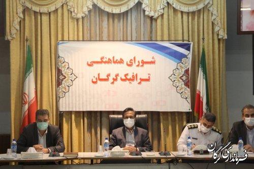 تصویب طرح غیر همسطح افسران در جلسه شورای ترافیک گرگان