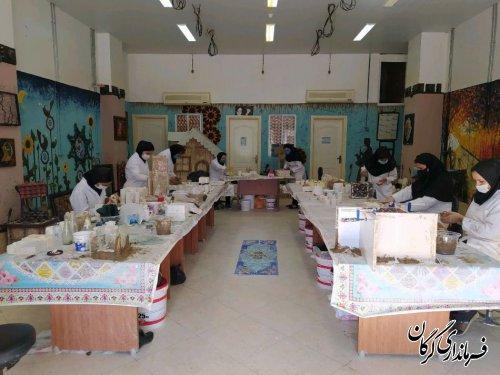 بیش از 500 نفر در مرکز آموزش فنی و حرفه ای خواهران شهرستان گرگان از آموزش های مهارتی بهره مند شدند