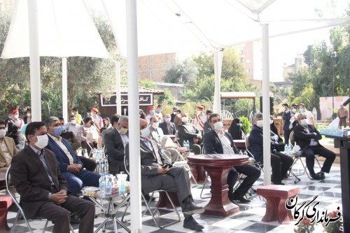 ١٢ پروژه عمرانی در گرگان افتتاح شد
