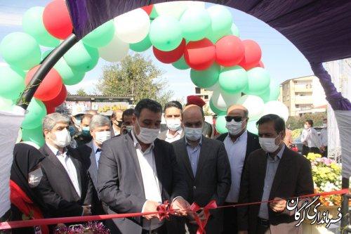 فرماندار خبر داد: ١٢ پروژه عمرانی در گرگان افتتاح شد