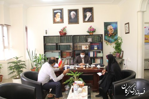 ملاقات مردمی فرماندار گرگان با مردم برگزار شد