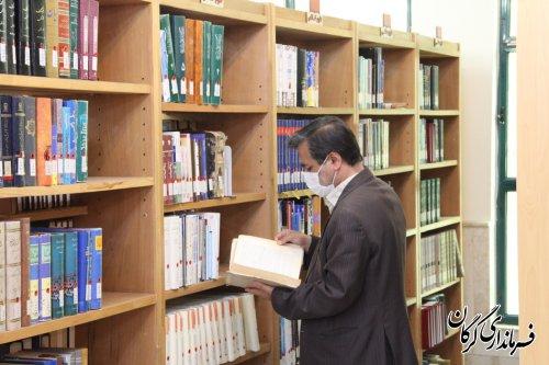 تخصیص ١۵٠ میلیون اعتبار برای تجهیز کتاب خانه های عمومی مناطق حاشیه نشین