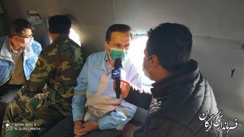 فرماندار گرگان: پایش جنگل توسکستان پس از اطفاء حریق انجام شد