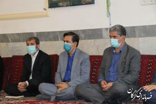 بررسی مشکلات کوی اسلام آباد گرگان با حضور فرماندار