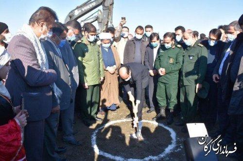 آغاز عملیات اجرایی زهکشی ٩٠٠٠ هکتار از اراضی کشاورزی شهرستان گرگان