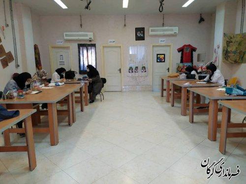 در ۹ماهه سال ۱۳۹۹ ۶۷۰نفر در مرکز آموزش فنی و حرفه ای خواهران شهرستان گرگان از آموزش های مهارتی بهره مند شدند