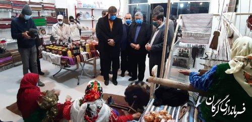 نمایشگاه دائمی صنایع دستی در «زیارت» گرگان افتتاح شد